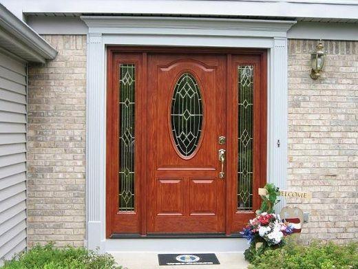 Fiberglass Entry Doors With Sidelights | Three Surprising Thruths About Fiberglass Entry Doors ...