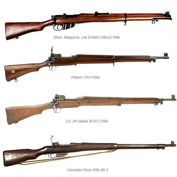 Pattern 1914 was aWW1 British service rifle principally