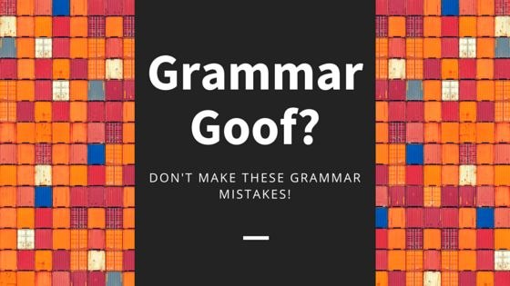 Like this infographic? Get more content marketing tips from Copyblogger. 15 grammatical errors that make you look plain silly via Copyblogger.com Related posts: TO YOUR SUCCESS!!