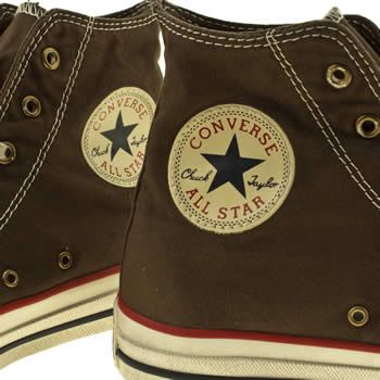 converse all star hi v well worn trainers was £60 now £24.99