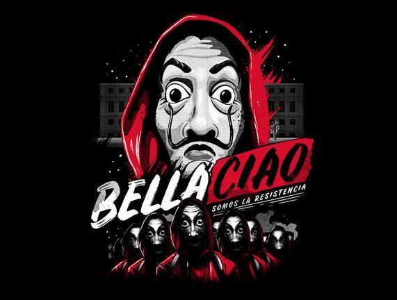 Bella Ciao in 2020 | Joker hd wallpaper, Joker art, Day of the shirt