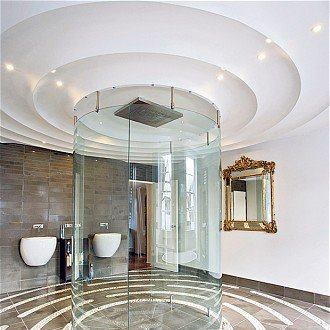 Bathroom porn of the day - how frigging awesome is that shower!!!!
