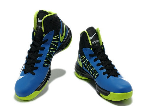 Nike Lunar Hyperdunk 2012 Blue Black Volt,Style Code: 535359-102,Colorway