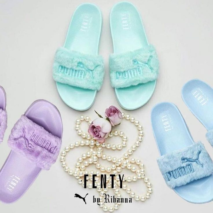 Puma and Rihanna Are Dropping New Leadcat Fenty Furry Slide Colors In July