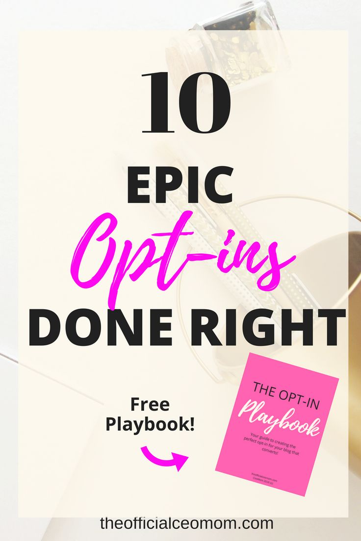 Check out these 10 epic blog opt-ins by entrepreneurs and bloggers!