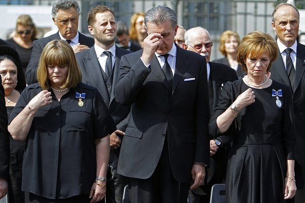 Funeral held for Queen Anne of Romania in Bucharest