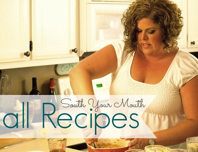 South Your Mouth: Recipe Index