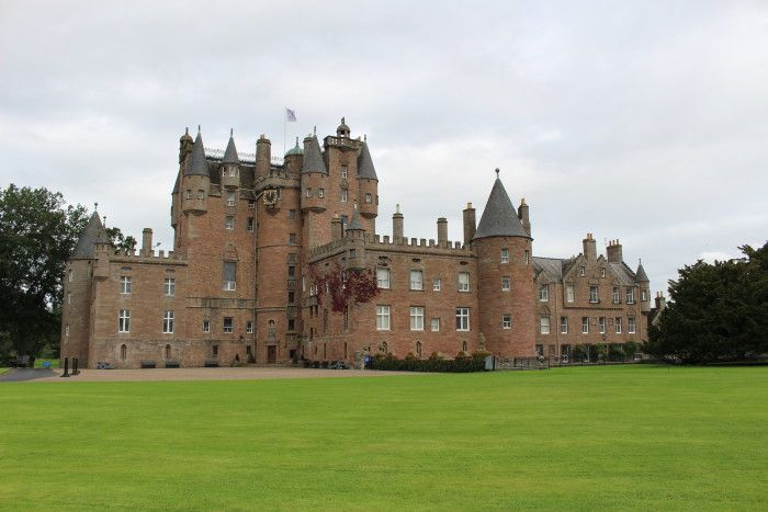 trendy jewelry Tea and cookies at Glamis Castle in Scotland