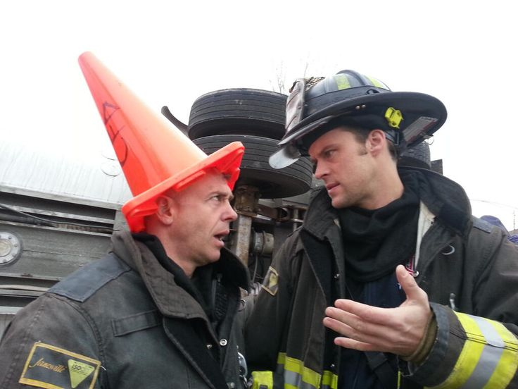 Chicago Fire -- I'm pretty sure this didn't make broadcast.