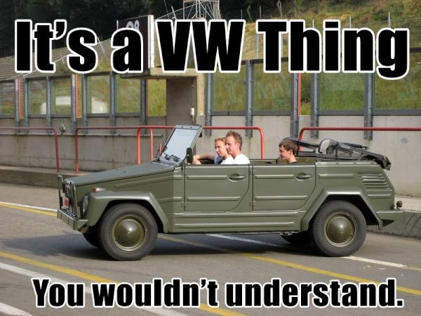 """It""""s a VW Thing!"""