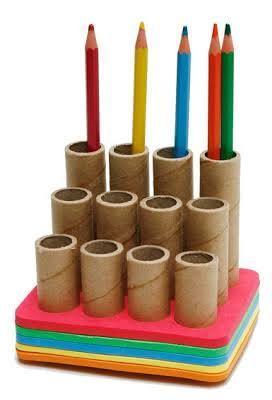 artesanato com rolos de papel higienico - Pesquisa Google