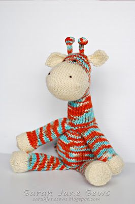 25+ best ideas about Knitted stuffed animals on Pinterest Crochet animals, ...