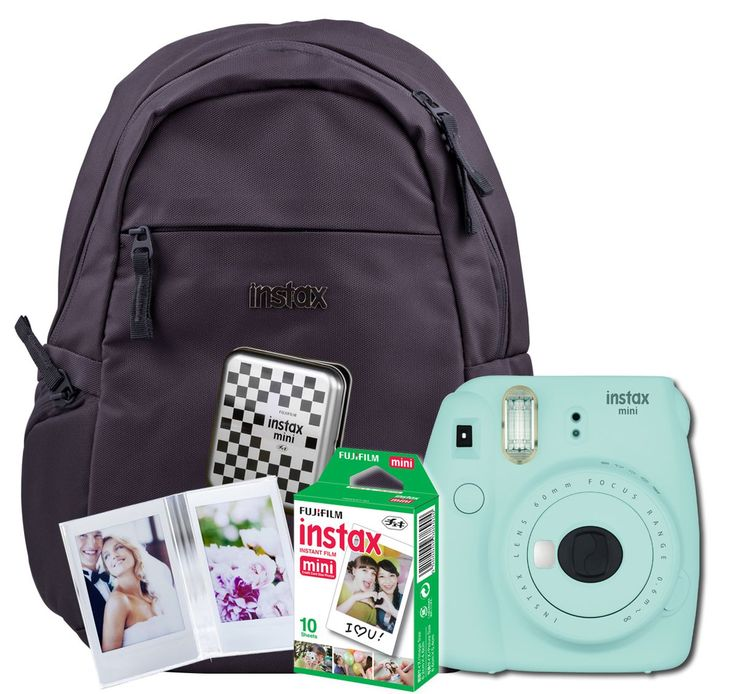 Fujifilm Instax Mini 9 Camera Value Bundle - Ice Blue | Buy Online in South Africa | takealot.com