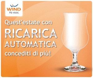 Wind, Promozione sulla Ricarica Automatica: Fino al 20% di ricarica in più in omaggio ricaricando online