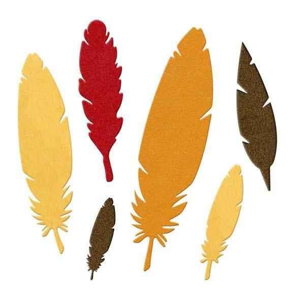 Quickutz die 4 DR0376-p feathers