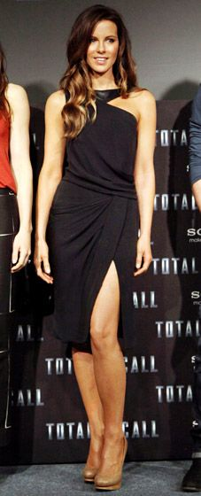 Kate Beckinsale at Total Recall photocall