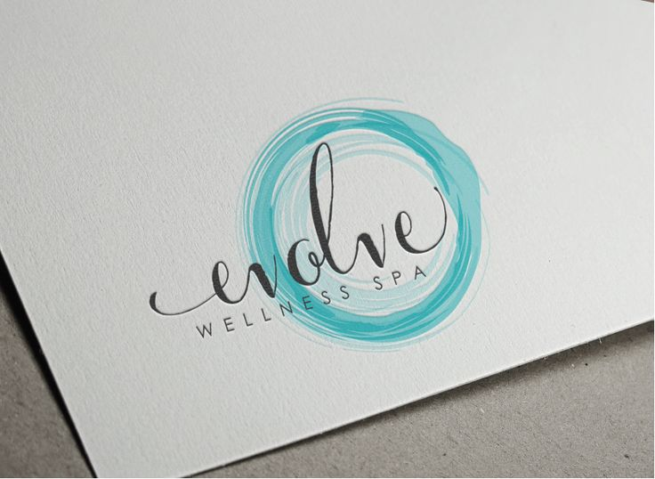 Create a fresh and distinct logo for Evolve Wellness Spa