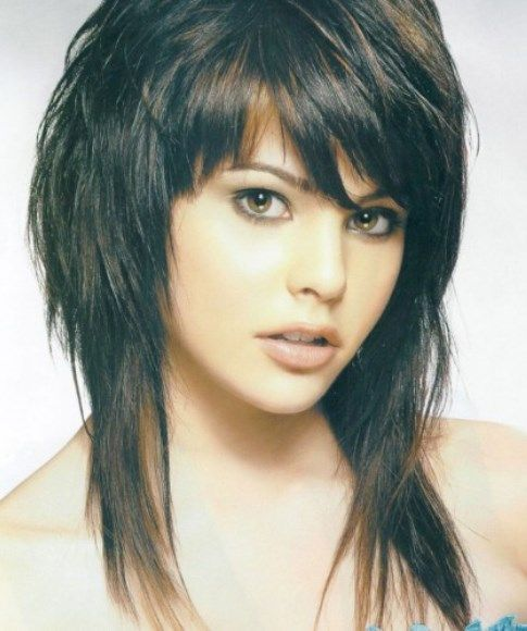 Trendy Hairstyles For Long Hair: 25+ Best Ideas About Medium Shag Hairstyles On Pinterest