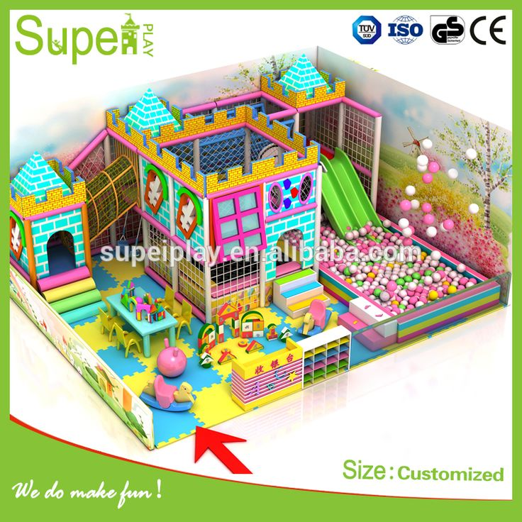 Large Colorful series Children's Playground Equipment