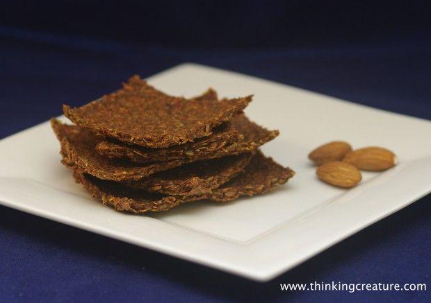 Мексиканские крекеры из льняных семечек (raw, vegan)