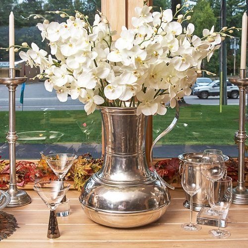 Match Pewter Umbrella Stand  Price : $1,790.00 http://shop.ninesmw.com/Match-Pewter-Umbrella-Stand/dp/B00OJMUPTQ