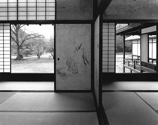 """The Katsura Imperial Villa"",Kyoto,Japan.Bruno Taut is said to ""Cry want to become more beautiful."""