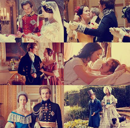 The Young Victoria. This movie is one of my favorites. It's so sweet and I love watching Victoria and Albert's relationship! It always makes me tear up...also, the cinematography is beautiful.