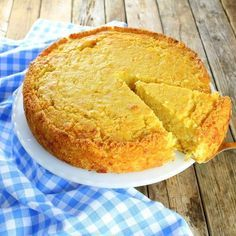 Caribbean Cornbread is extremely moist with bits of corn, crushed pineapple and the perfect amount of sweetness!  http://tasteandsee.com