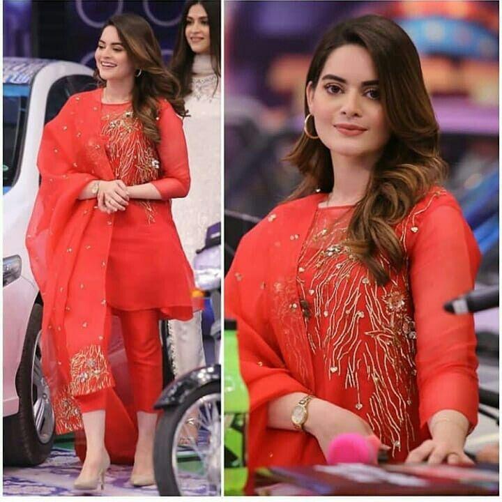 Minal khan at Jeeto Pakistan | Beautiful pakistani dresses, Simple  pakistani dresses, Pakistani dresses casual