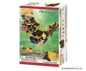 LaQ Insect World Mini Butterfly- Fjäril - Bygg en liten fjäril av de 64 byggbitarna, en beskrivning följer med. LaQ är roligt och kreativt. Tränar finmotoriken och förmågan att läsa och följa en beskrivning. Från 5 år.
