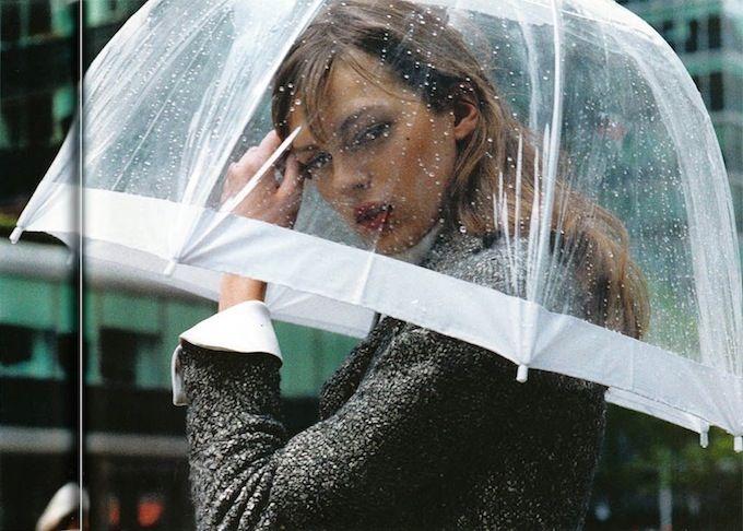 Glam Tip: Banish Rainy Day Hair Blues