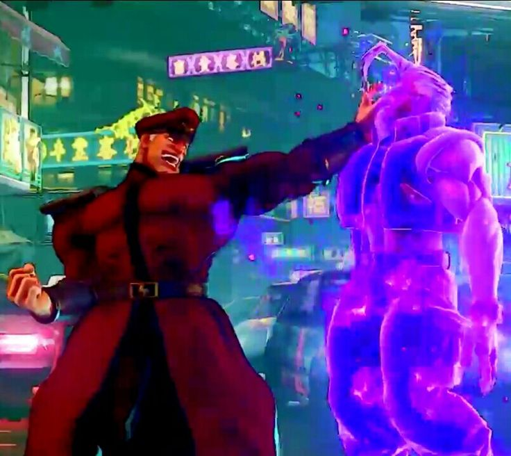 Street Fighter 5 M.Bison New Special Move