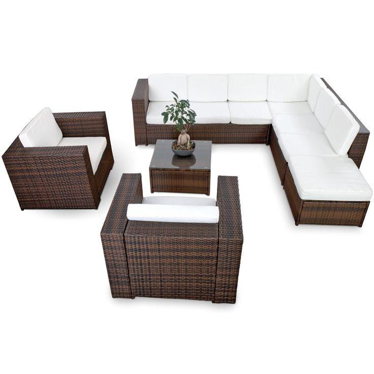 Lounge Gartenmöbel, Lounge Sessel, Plattform, Balkon, Terrasse
