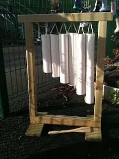 Outdoor Music Wall | Creative STAR Learning | I'm a teacher, get me OUTSIDE here!