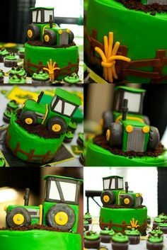 John Deere Tractor Birthday Party - Kara's Party Ideas - The Place for All Things Party