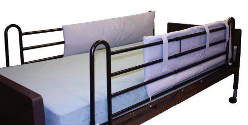 Hospital Bed Rail Bumper Pads - 1 Pair - 48x15x1 Inches