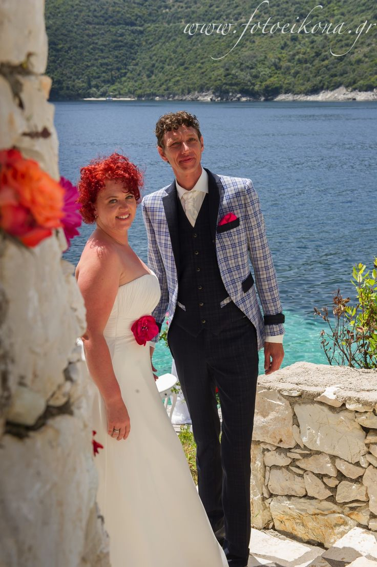 Sweet couple's wedding photos San Nicolas #Lefkas #Ionian #Greece #wedding #weddingdestination Eikona Lefkada Stavraka Kritikos