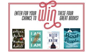 WIN 1 of 4 Prize Packs from Penguin Random House! on http://www.canadafreebies.ca/
