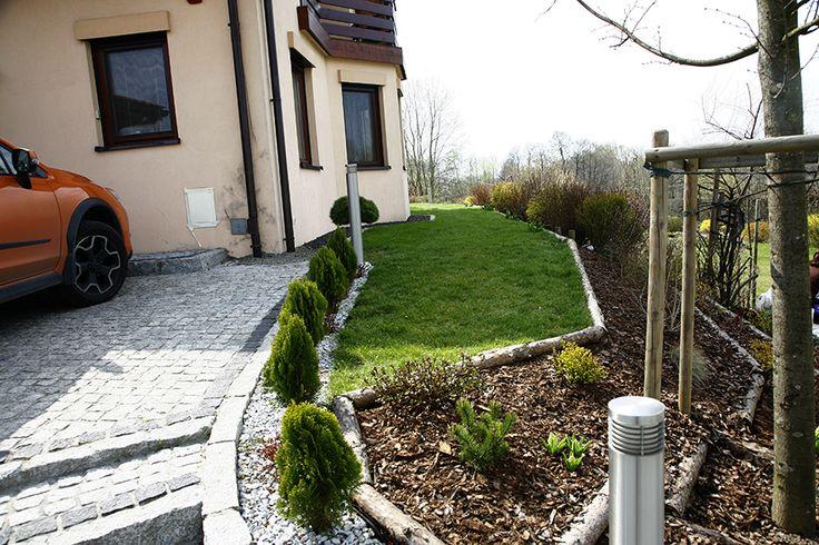 Aranżacja ogrodu przydomowego w Krakowie