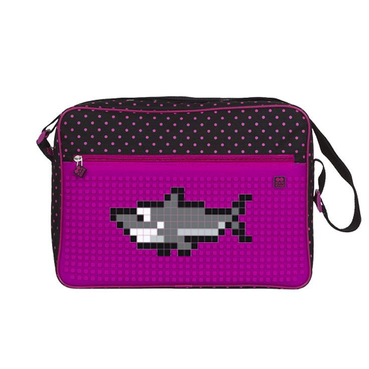 PIXIE CREW Shoulder Bag DOTTED / FUCHSIA - With pattern - Shoulder Bags  | Pixie Crew