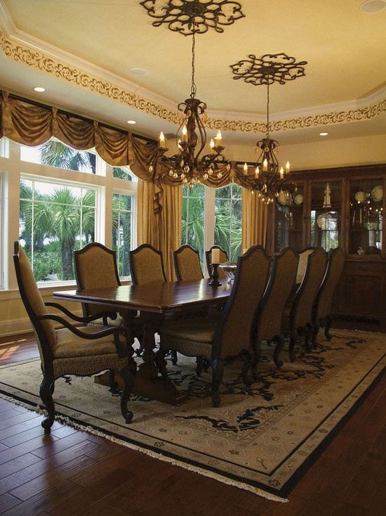 Mediterranean Dining Room Design, Pictures, Remodel, Decor and Ideas - page 125