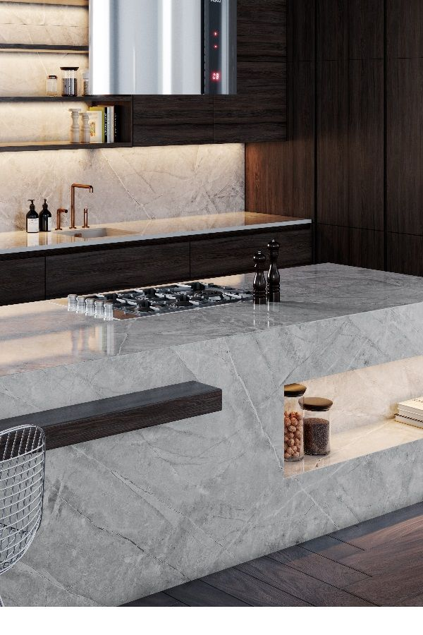 Dekton Sogne Cosentino Kitchen Inspiration Modern Industrial Style Kitchen Sogne