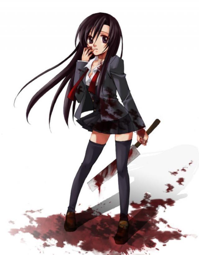 Es mi imaginacion o ella mato a alguien (? xD