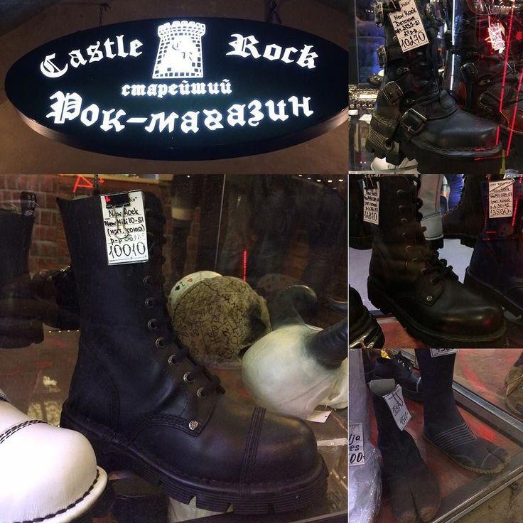 Годы идут а ботиночки - то эти все продолжают нравиться ... #костыль #castlerock #гады #pinterest
