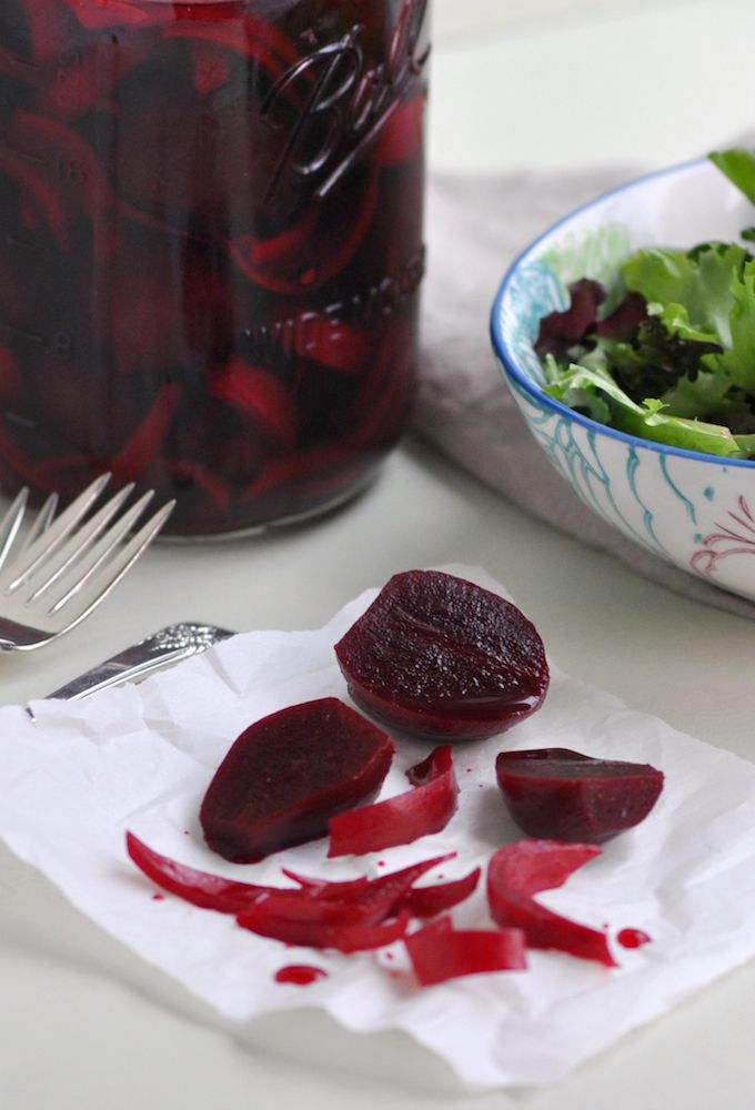 I love roasted beets. I love anything pickled. I've pickled beets. I've roasted beets. But never have I PICKLED ROASTED BEETS. Until now! Beets are so versatile and easy to prepare and you can eat ...