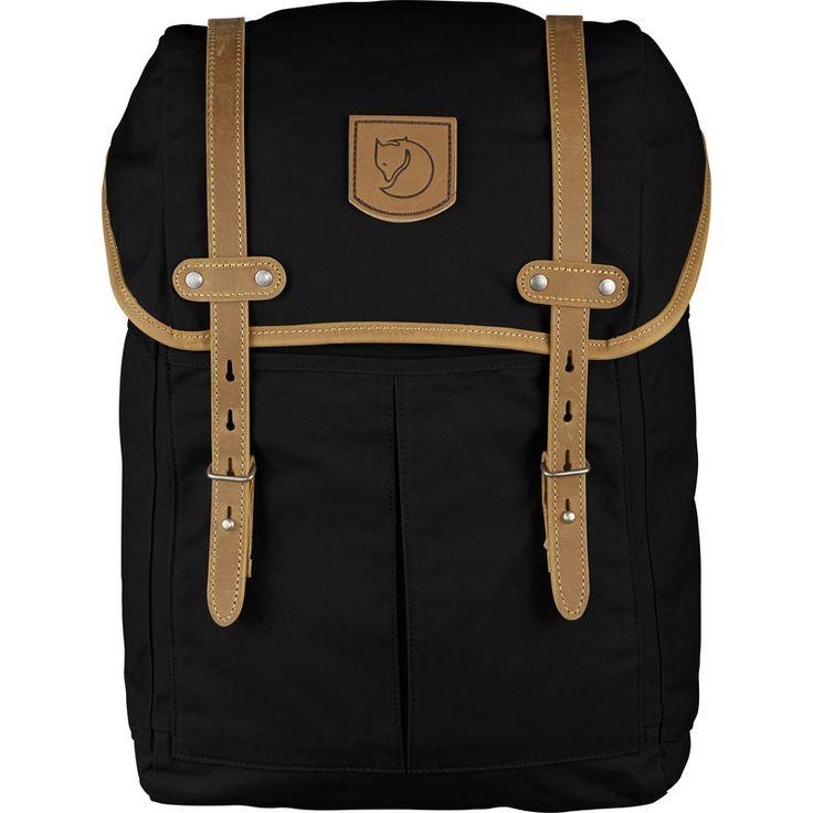 Fjällräven Rucksack No. 21 Medium Backpack   Black