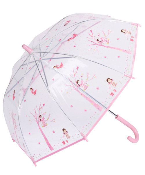 Think Pink Fairy Blossom Dome Umbrella