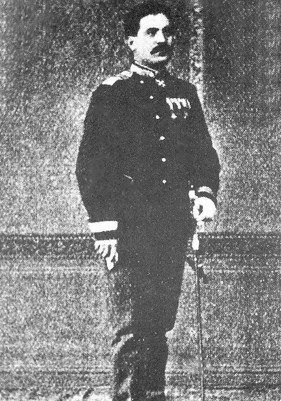 Путник са чином мајора 1879. године