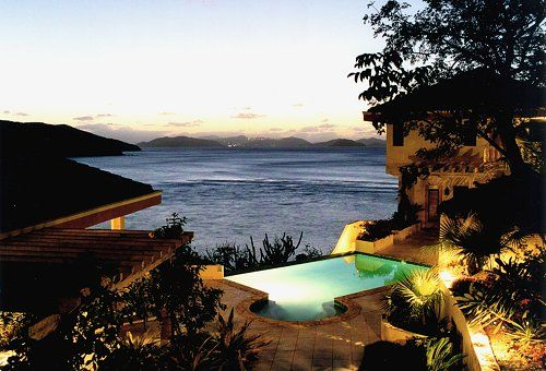 A DREAM COME TRUE VILLA is a luxurious 6,500 square foot 5 bedroom, 6 bath vacation waterfront home on an exceptionally private estate blessed with breathtaking views of Virgin Gorda's Savannah and Pond Bays and the Sir Francis Drake Channel in the BVI.
