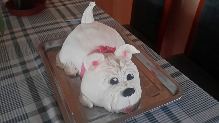Kiskutya torta Dog cake